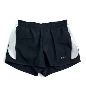 Nike Dri-Fit Athletic Running Shorts B&W